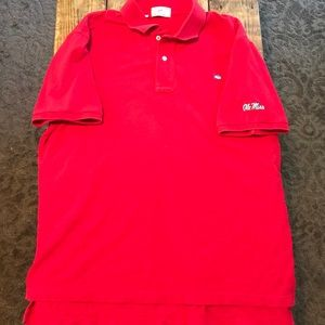 Ole Miss Southern Tide 'The Skipjack' Red Polo